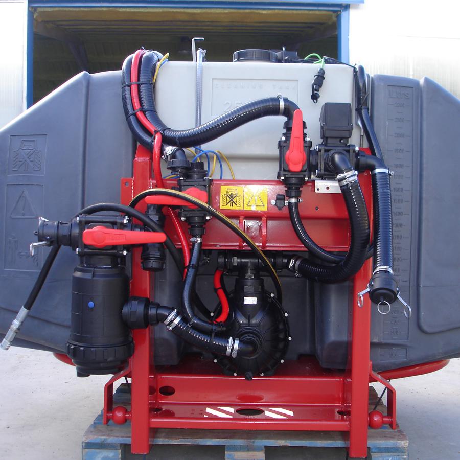 tecnospra unidad carga trasiego agitación bomba centrífuga hidráulica