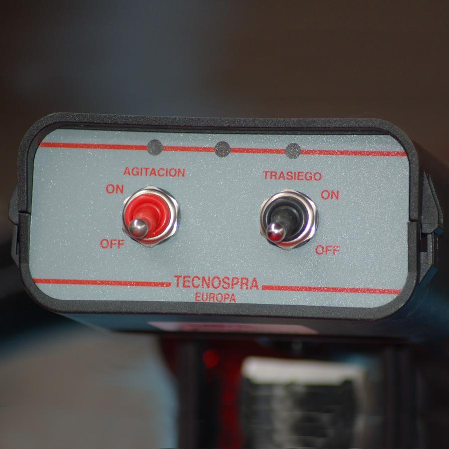 tecnospra sistema eléctrico unidad de presión agitación 12v