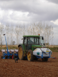 Tecnospra Europa. Monosen Sowing Machine.