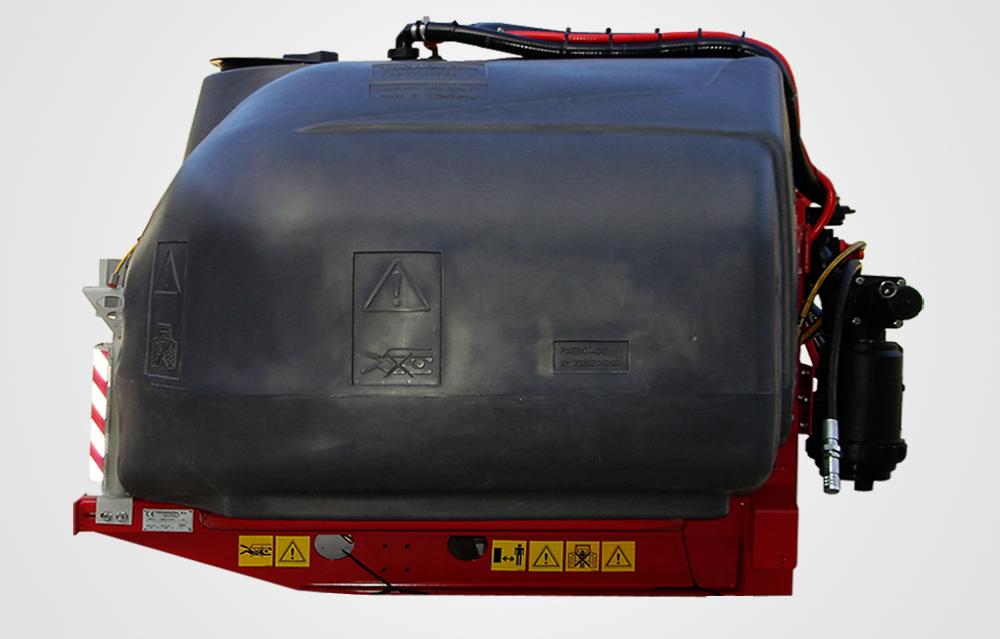 Tecnospra Europa. Depósitos auxiliares delanteros Physeter 2200